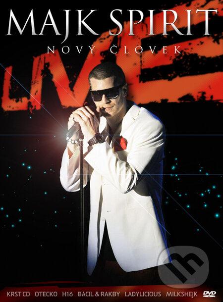 Majk Spirit: Nový človek – Live koncert DVD