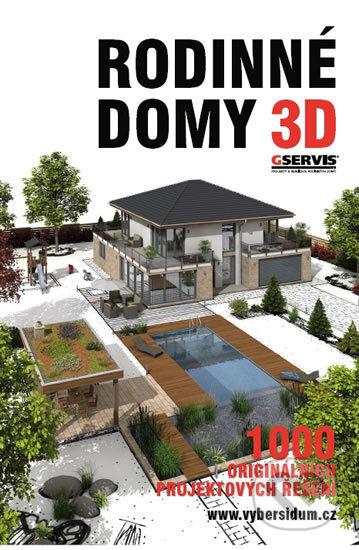 Rodinné domy 3D -