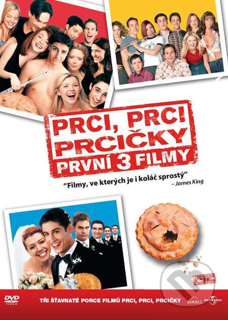 Prci, prci, prcičky 1-3 DVD