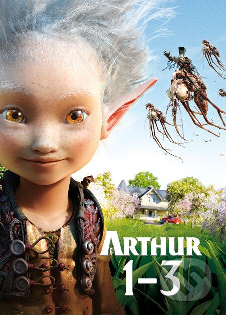 Arthur 1 - 3 DVD