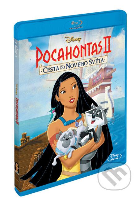 Pocahontas 2: Cesta do nového světa BLU-RAY