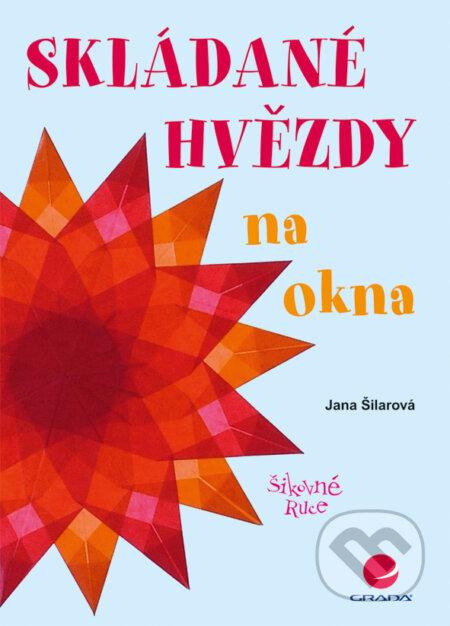 Skládané hvězdy na okna - Jana Šilarová