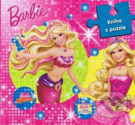 Barbie: Kniha s puzzle -