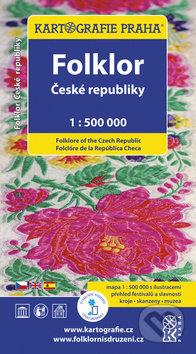 Folklor České republiky 1 : 500 000 -