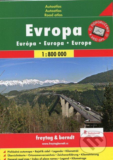 Evropa 1:800 000 -
