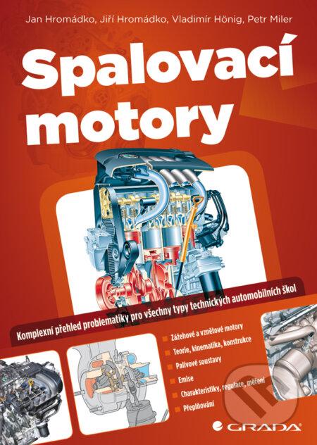 Spalovací motory - Hromádko Jan a kolektiv