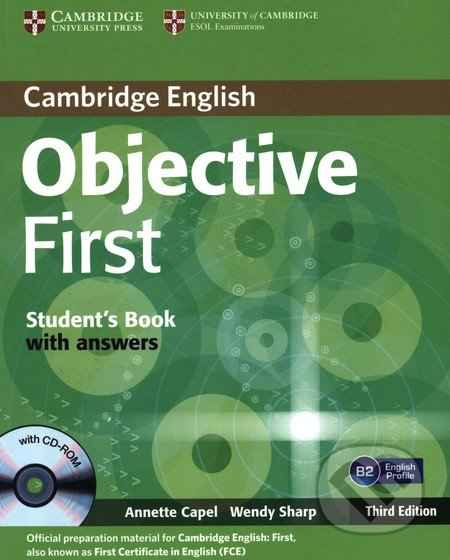 Objective First - Students Book with key - Annette Capel