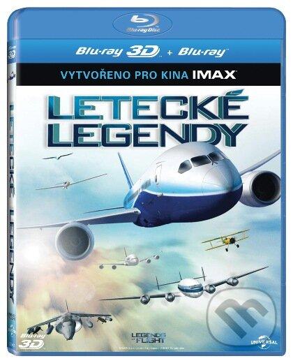 Letecké legendy - 3D BLU-RAY