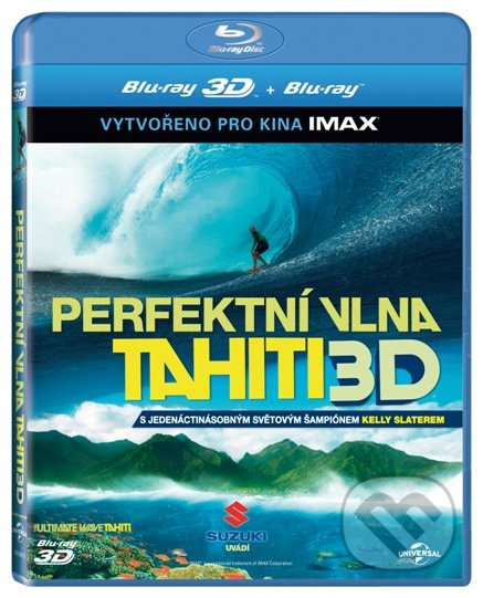 Tahiti: Perfektní vlna - 3D BLU-RAY