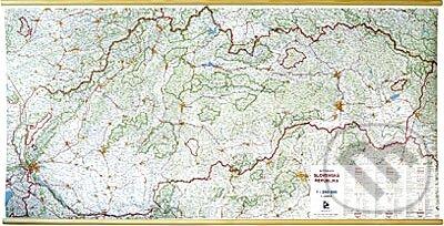 Automapa Slovenskej republiky 1:250 000 - Kolektív autorov