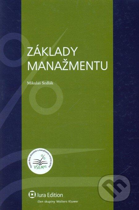 Základy manažmentu - Mikuláš Sedlák