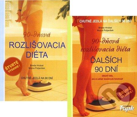90-dňová rozlišovacia diéta + 90-dňová rozlišovacia diéta - Ďalších 90 dní (kolekcia) - Breda Hrobat, Mojca Poljanšek