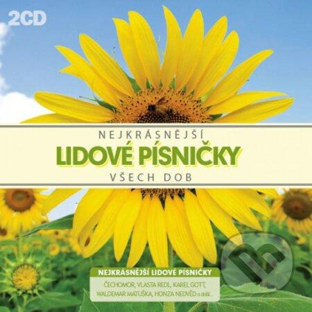 Various Artists: Nejkrásnejší Lidové Písničky Všech Dob - Various Artists