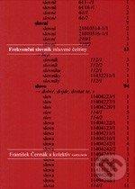 Frekvenční slovník mluvené češtiny - František Čermák