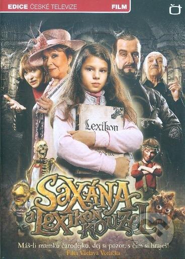 Saxána a Lexikon kouzel DVD