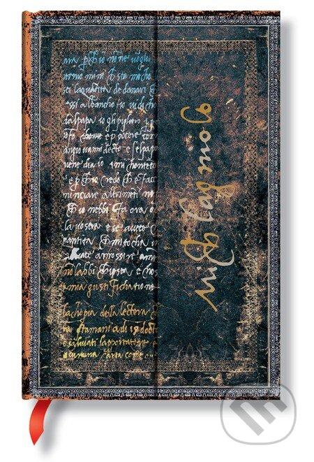 Paperblanks - Michelangelo, Handwriting (Mini, čistý) -