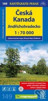 Česká Kanada, Jindřichohradecko 1:70 000 -
