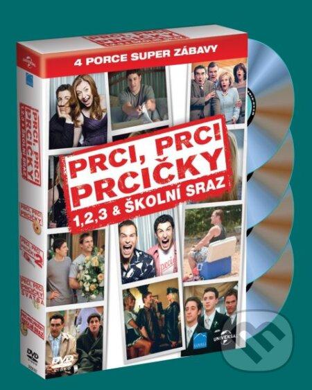 4 DVD Prci, prci, prcičky 1-4 DVD