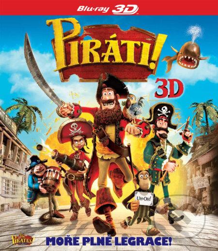 Piráti (3D) BLU-RAY