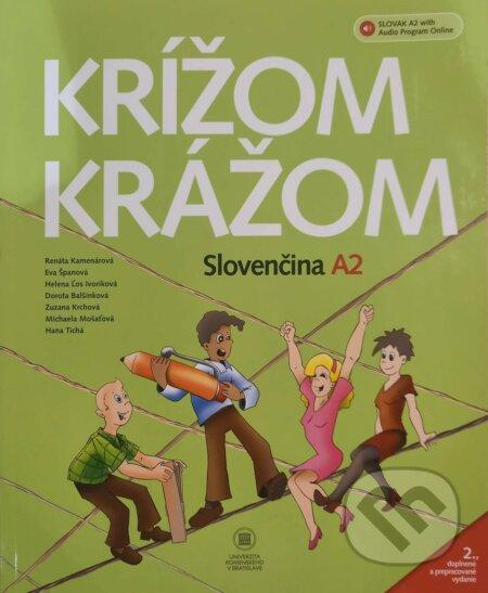 Krížom krážom - Slovenčina A2 - Renáta Kamenárová a kolektiv