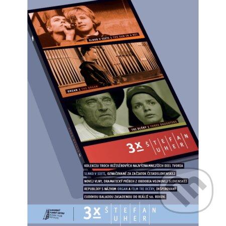 3x Štefan Uher DVD