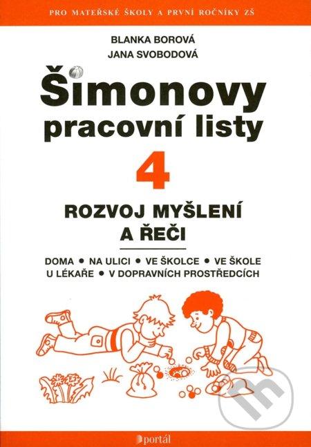 Šimonovy pracovní listy 4 - Blanka Borová