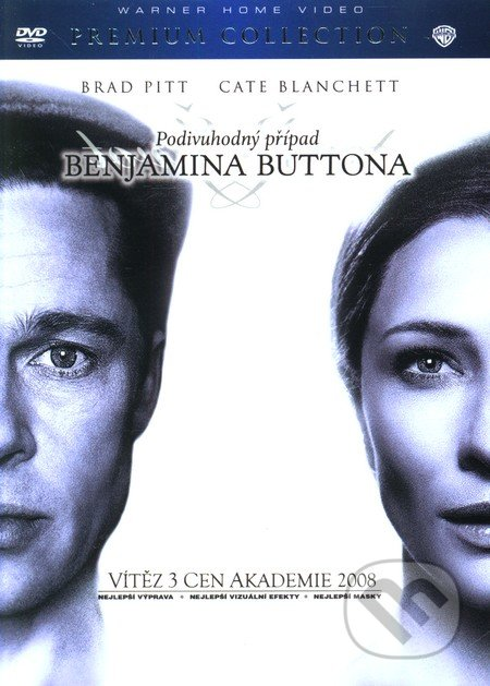 Podivuhodný případ Benjamina Buttona ( Premium Collection ) DVD