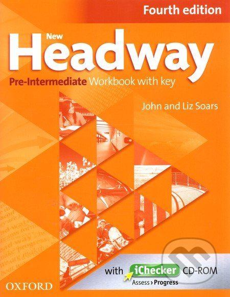 New Headway: Pre-Intermediate Fourth Edition: Workbook + iChecker with Key - Náhled učebnice
