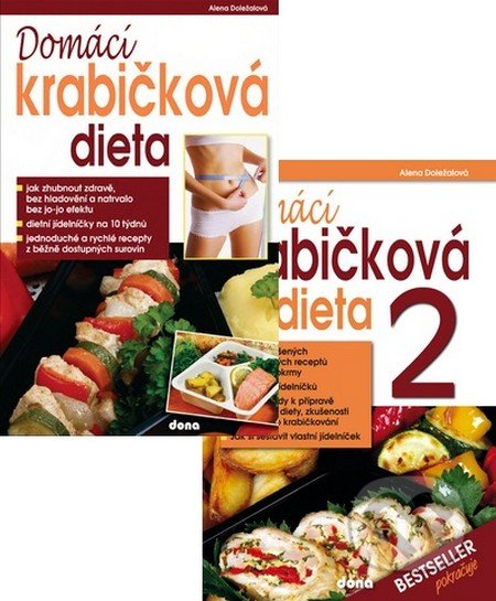Domácí krabičková dieta 1+2 (kolekce) - Alena Doležalová