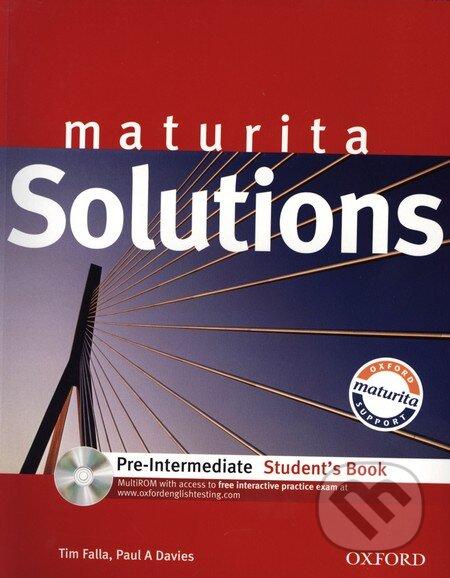 Maturita Solutions Pre-Intermediate (Student's Book) - Náhled učebnice