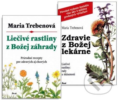 Liečivé rastliny z Božej záhrady + Zdravie z Božej lekárne - Maria Treben