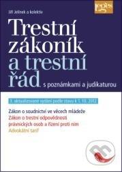 Trestní zákoník a trestní řád s poznámkami a judikaturou - Jiří Jelínek a kolektiv