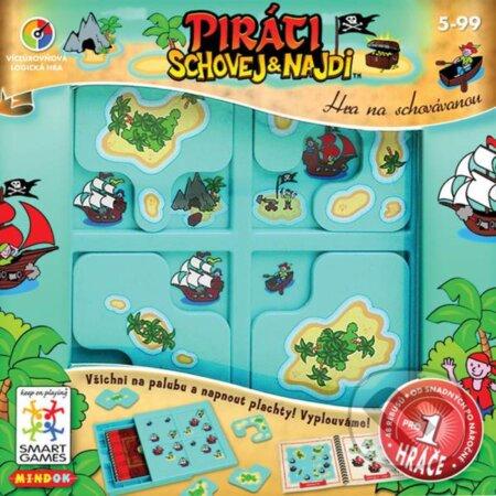 Schovaj a nájdi Piráti - Raf Peeters