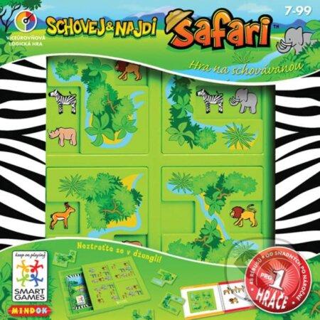 Schovaj a nájdi Safari -