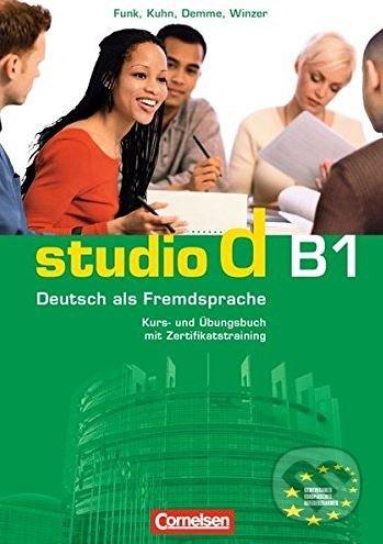 Studio d B1: Kursbuch + Ubungsbuch -