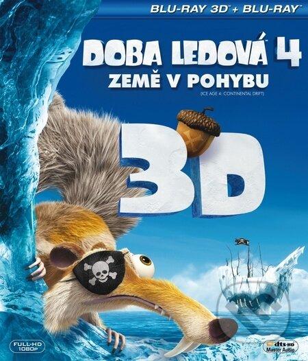 Doba ledová 4: Země v pohybu 3D BLU-RAY