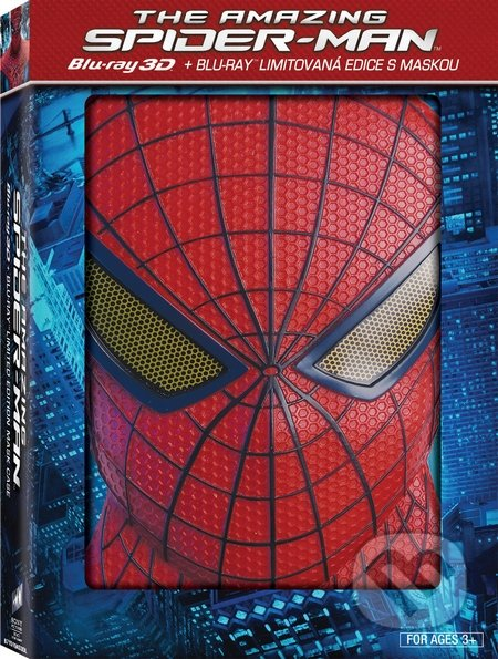 Amazing Spider-Man + maska Spider-Man BLU-RAY