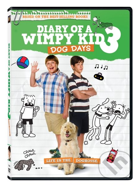 Deník malého poseroutky 3 DVD