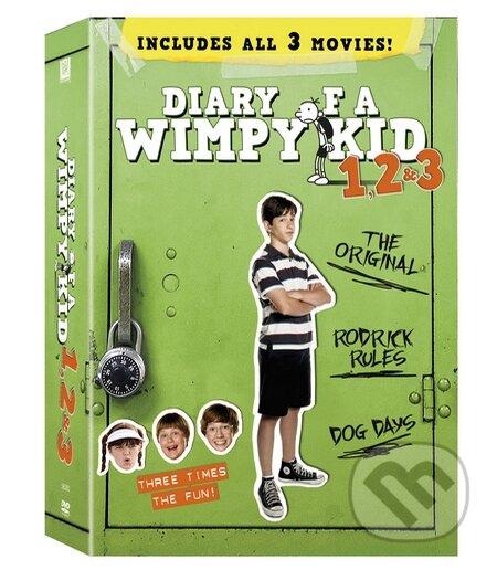 Deník malého poseroutky 1, 2, 3 DVD