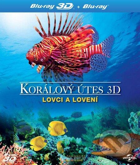 Korálový útes 3D - Lovci a lovení BLU-RAY