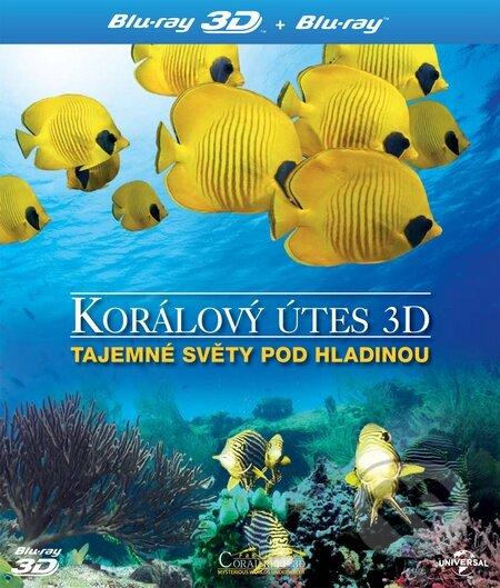 Korálový útes 3D - Tajemné světy pod hladinou BLU-RAY