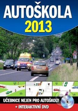 Autoškola 2013 + interaktivní DVD -