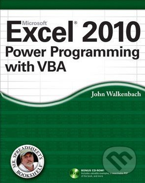 Microsoft Excel 2010 Power Programming with VBA - John Walkenbach