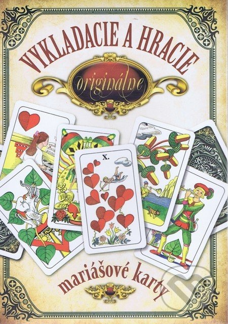 Vykladacie a hracie originálne mariášové karty - Jan Hrubý
