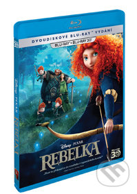 Rebelka 3D+2D BLU-RAY