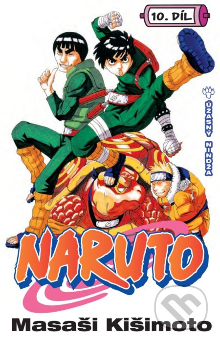 Crew Naruto 10: Úžasný nindža - Masaši Kišimoto