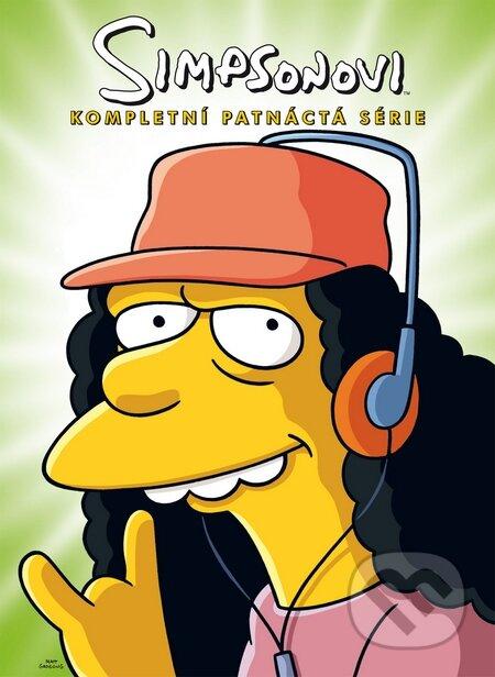 Simpsonovi 15. sezóna DVD