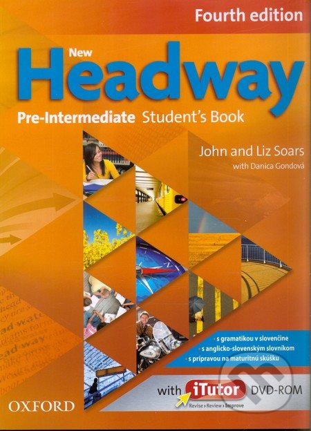 New Headway - Pre-Intermediate - Student\'s Book + DVD - John Soars, Liz Soars
