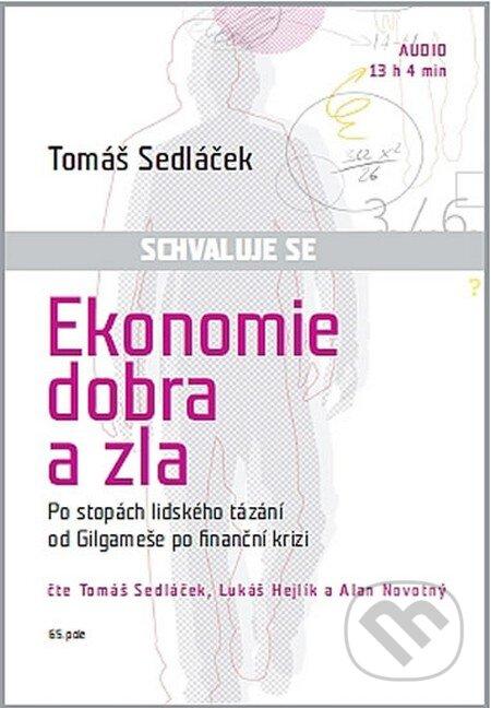 Ekonomie dobra a zla (audiokniha) - CD (mp3) -
