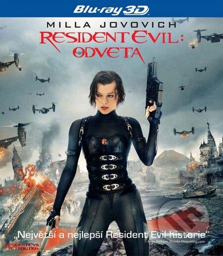 Resident Evil: Odveta 3D BLU-RAY